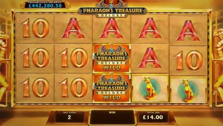 Igrač Casino Las Vegas osvojio džekpot od 780K na Pharaoh's Treasure Deluxe