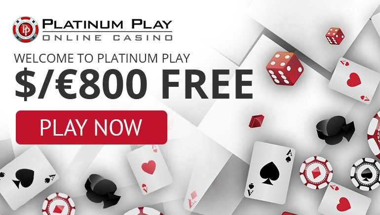 Welcome to Platinum Play $/€800 free