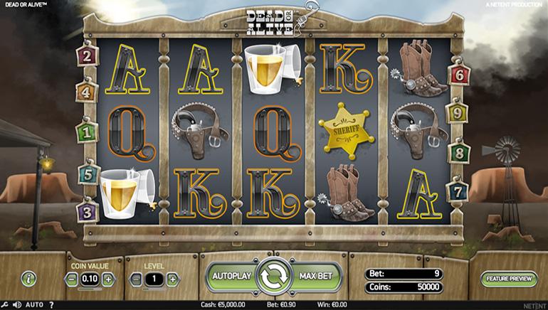 Veliki izbor slotova u 777 Casino